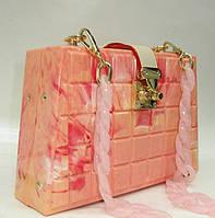 Женский праздничный клатч 28538 Pink Женские вечерние клатчи Праздничные клатчи на любой вкус