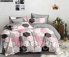 """""""ромбик"""" комплект постельного белья полуторный 150/210 см, нав-ки 70/70, ткань бязь, 100% состоит из хлопка"""