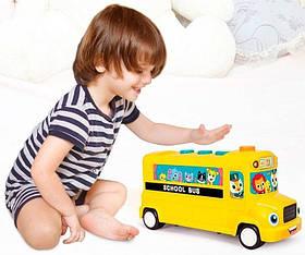"""Інтерактивна розвиваюча іграшка """"Автобус"""" Hola 3126"""
