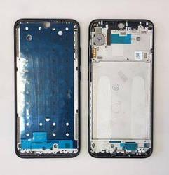 Рамка корпус Xiaomi Redmi Note 7 черная