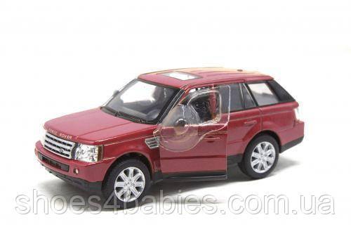 Машинка KINSMART Range Rover Sport (бордовая)
