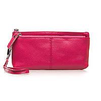 Женский кожаный кошелек-косметичка A-00276-4 rose.Купить женский кожаный кошелек.