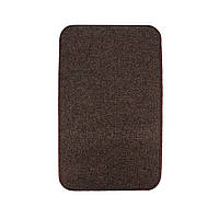 Електричний килимок з підігрівом Теплик двосторонній 50 х 30 см Темно-коричневий, фото 1