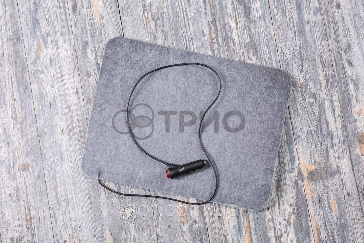 Электрическая грелка для ног в авто Trio ТРИО 32х42 см Серая (iz00310)