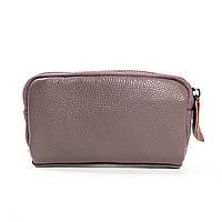 Женский кожаный кошелек-косметичка 6002 lavanda.Купить женский кожаный кошелек.