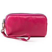 Женский кожаный кошелек-косметичка  6002-4 rose.Купить женский кожаный кошелек.