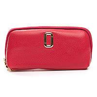 Женский кожаный кошелек-косметичка  T1338-6 красный.Купить женский кожаный кошелек.