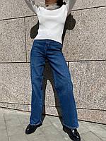 Джинси труби жіночі стильні базові повсякденні Bdv242