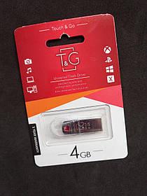 Флеш-накопитель Usb 4Gb T&G Stylish хром series 115