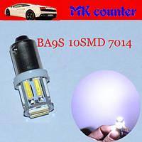 Светодиодная лампа white  ba9s 12v