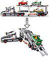 Конструктор Автовоз, Трейлер с машинками Sluban M38-B0339, 638 деталей, фото 6