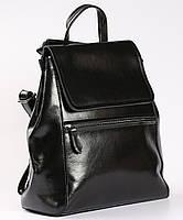 Черный женский рюкзак из натуральной кожи Tiding Bag - 54451, фото 1