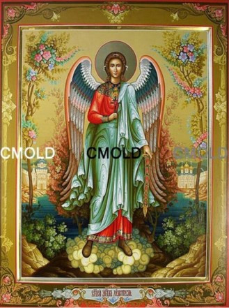 Алмазная вышивка ангел-хранитель