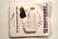 Внешняя USB звуковая карта, HIFI Magic Voice 8.1CH Sound Card