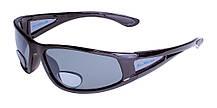 Бифокальные поляризационные очки BluWater BIFOCAL-3 (+3.0) Polarized (gray) серые