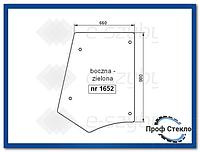 Стекло экскаватор-погрузчик Fiat B95 B100 B110B B200B FB100.2 FB110.2 FB200.2 -сторона (левая, правая)