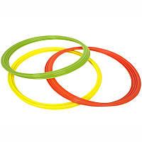 Кільця для координації SELECT COORDINATION RINGS (341) жовтий/зел/оранж, 12 шт, фото 1