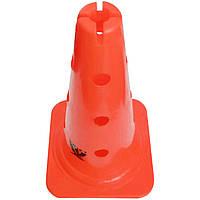 """Конус з отворами і прорізом SWIFT Training Marker with Holes & Slit,30 см/12"""", помаранчевий, фото 1"""