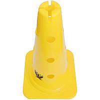 """Конус с отверстиями и прорезью SWIFT Training Marker with Holes & Slit,38 см/15"""", желтый, фото 1"""