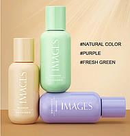 Зволожуючий BB крем консилер для обличчя, праймер Images, Fresh green, 50 г