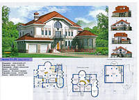 Архитектурное проектирование жилого дома, коттеджа