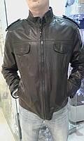 Куртка на змейке с погонами
