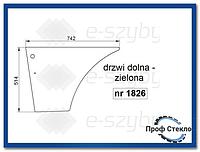 Стекло экскаватор-погрузчик Fiat B95 B100 B110B B200B FB100.2 FB110.2 FB200.2 -дверь Нижняя