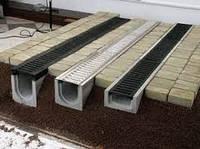 Установка дренажа в тротуарной плитке