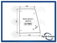 Стекло экскаватор-погрузчик FIat B95 B100 B110B B200B FB100.2 FB110.2 FB200.2 -Верхняя дверь (левый, правый)