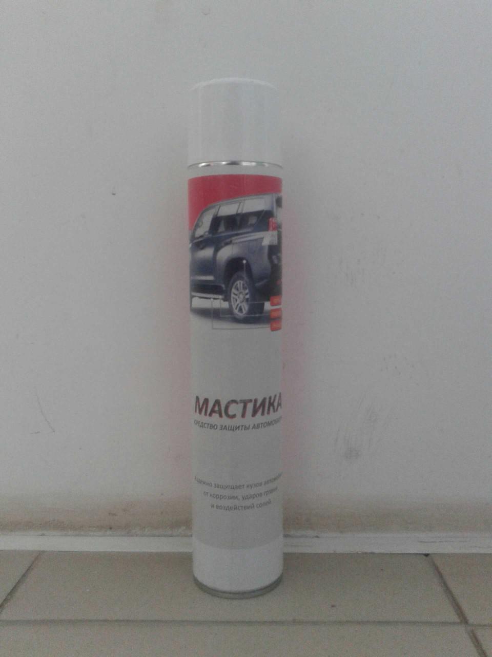 Антикоррозионная полимерно битумная мастика  аэрозоль 1000 мл 44759p