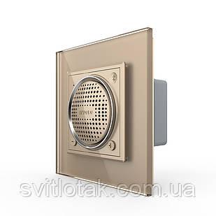 Bluetooth 5.0 колонка золото Livolo (VL-C7-FCF-2AP)