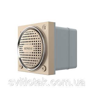 Механизм Bluetooth 5.0 колонка золото Livolo (VL-FCF-2AP)