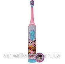 Детская электрическая зубная щетка от Firefly Лол Сюрприз из США. Оригинал. Для девочки.