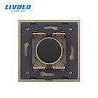 Часы механические золото Livolo (VL-FCCL-2AP-13), фото 4