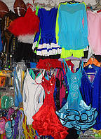 Платье Латина на бретелях юбка воланы Платье Латина для танцев на бретелях платье Латина