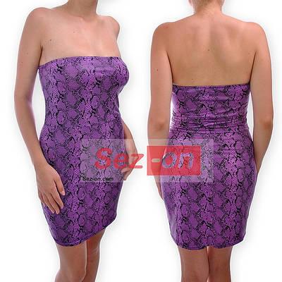 Платье летнее открытые плечи змея