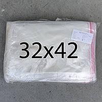 Пакет пакувальний з липкою стрічкою 32х42 (1000шт.)