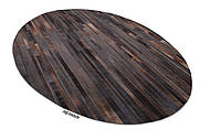 Овальные ковры из натуральной шкуры любого размера и цвета, фото 1