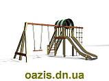 """Детский комплекс """"Вежа"""" с качелями от """"Стожар"""", фото 2"""
