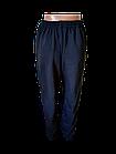 Спортивні штани чоловічі на байку прямі р. 54,56,58,60,62.Колір темно-синій.Від 5шт по 180грн, фото 3