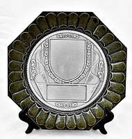Тарелка коллекционная  олово Германия Спорт трофей, фото 1