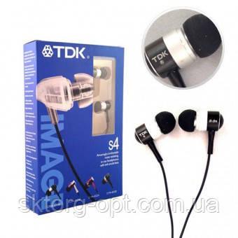Наушники TDK S4 вакуумные
