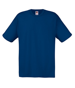 Мужская футболка темно-синяя хлопок 082-32