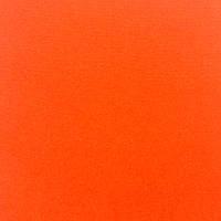 Фетр мягкий 1 мм, 100% шерсть, 20x30 см, ОРАНЖЕВЫЙ