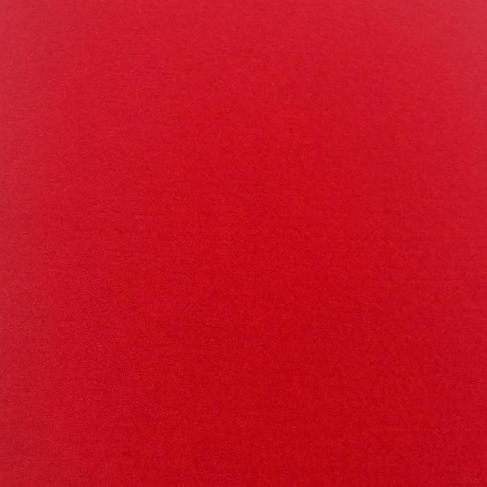 Фетр мягкий 1 мм, 100% шерсть, 20x30 см, КРАСНЫЙ