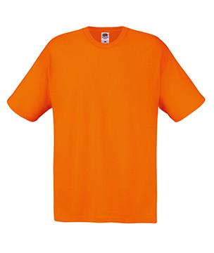Чоловіча футболка помаранчева бавовна 082-44