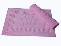 Коврик для ванной Lotus 50*70 махровый прорезиненный розовый