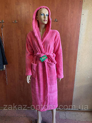 Махровий Халат жіночий (46-50) Україна оптом-81079, фото 2