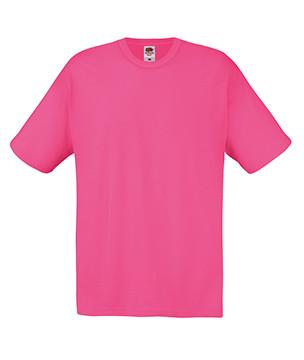 Мужская футболка малиновая хлопок 082-57