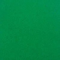 Фетр мягкий 1 мм, 100% шерсть, 20x30 см, ЗЕЛЕНЫЙ